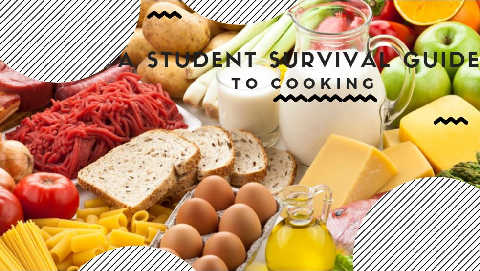 A message from the Dorm: A Student Survival Guide to Cooking