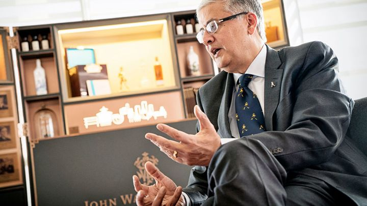 CEO of spirits giant Diageo: Dips in consumer confidence haven't fazed 'very strong' liquor trends